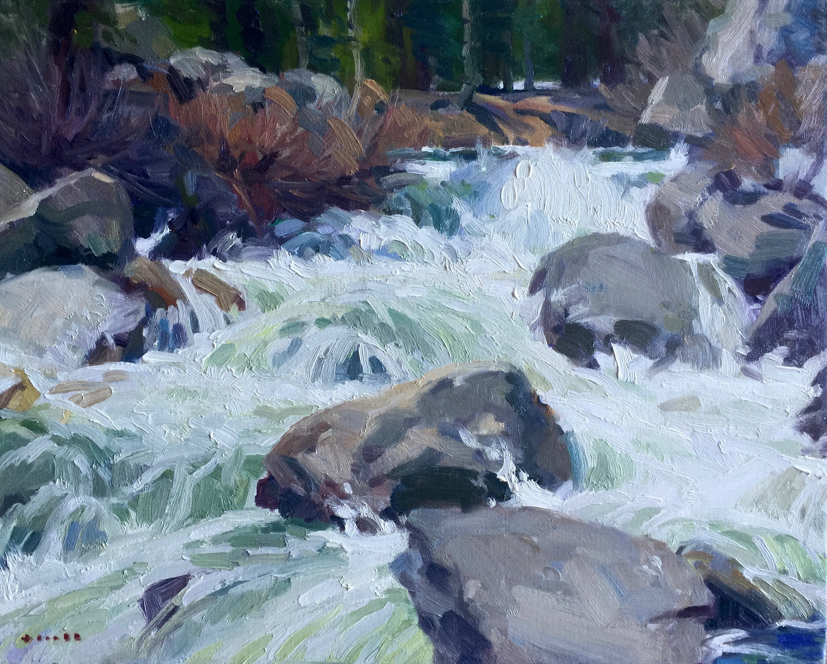 Yosemite Creek 16x20