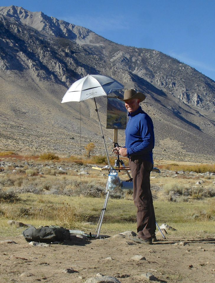 Gregory Hull on location Sierras