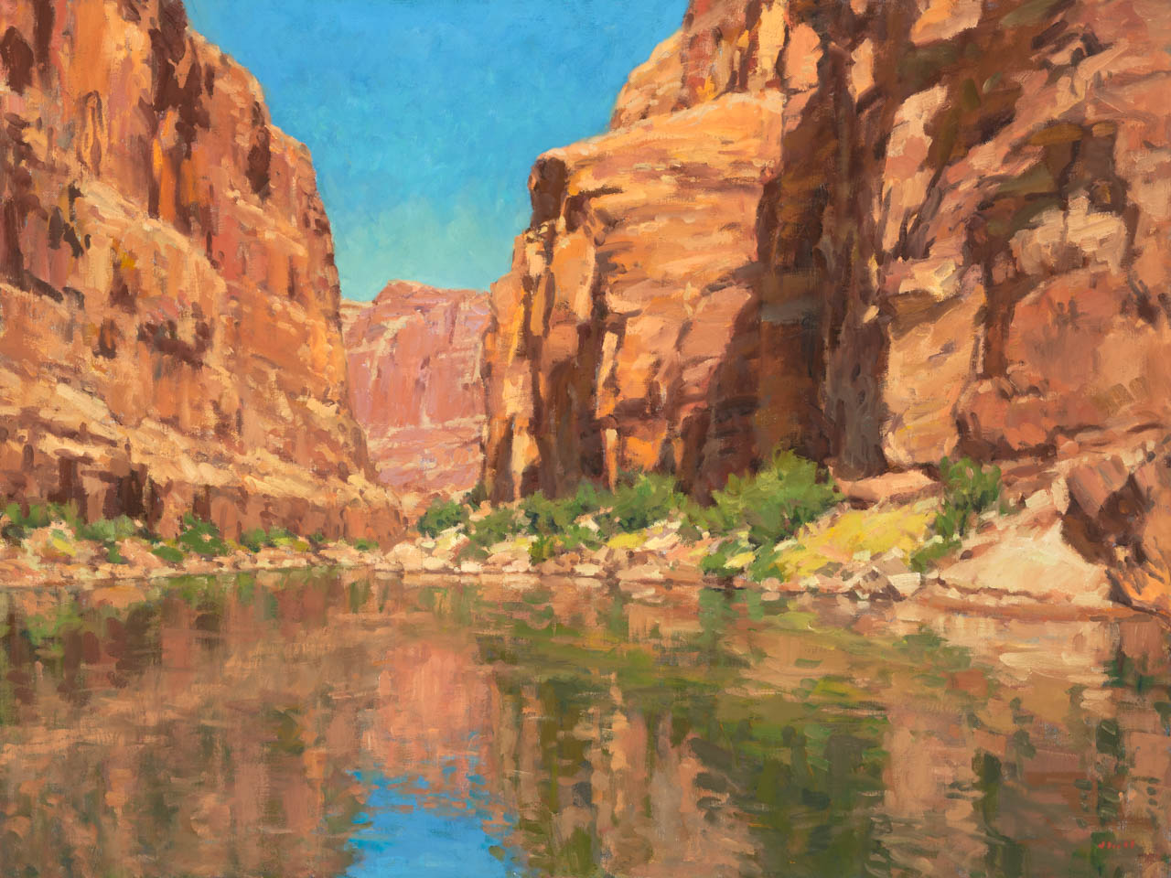 CANYON SERENITY 36X48 copy