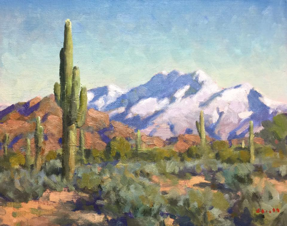 Desert Snow 11x14