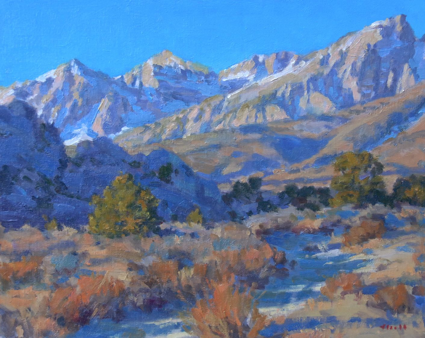 Buttermilk Morning 16x20
