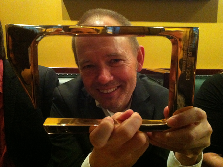 """winner of Gullruten – or directly translated – """"The Golden Frame"""""""