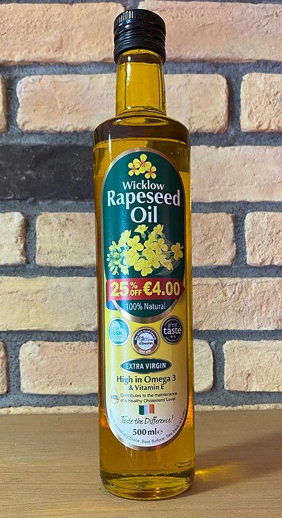Wicklow Rapeseed Oil 500ml