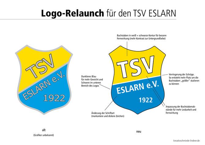 Logo-Relaunch für den TSV Eslarn