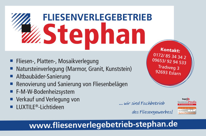 Fliesenverlegebetrieb Stephan