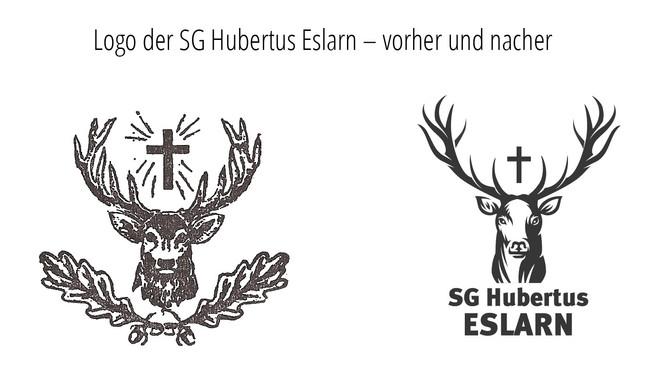 Logo-Relaunch für die Eslarner Hubertus-Schützen