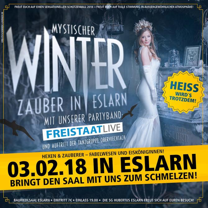 Winterzauber in Eslarn