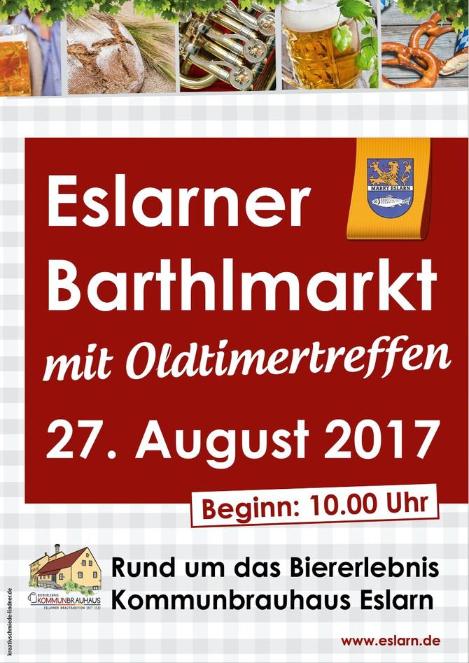 Barthlmarkt in Eslarn