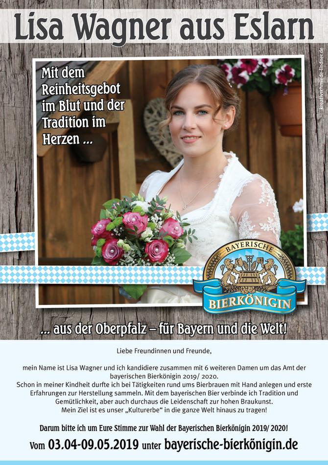 Wahl zur Bayerischen Bierkönigin 2019/ 2020