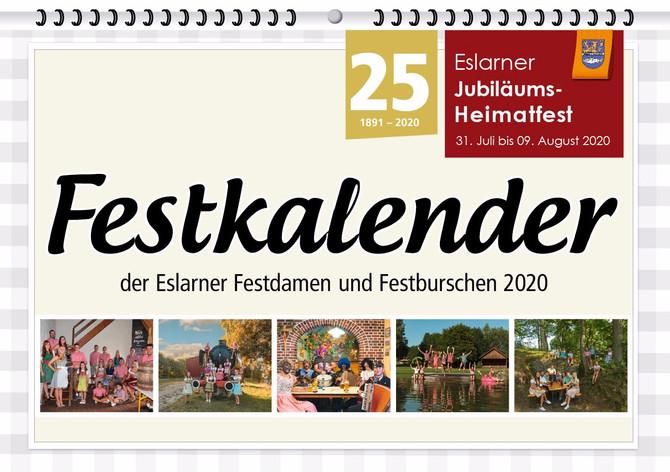 Jahreskalender zum Heimatfestjahr 2020