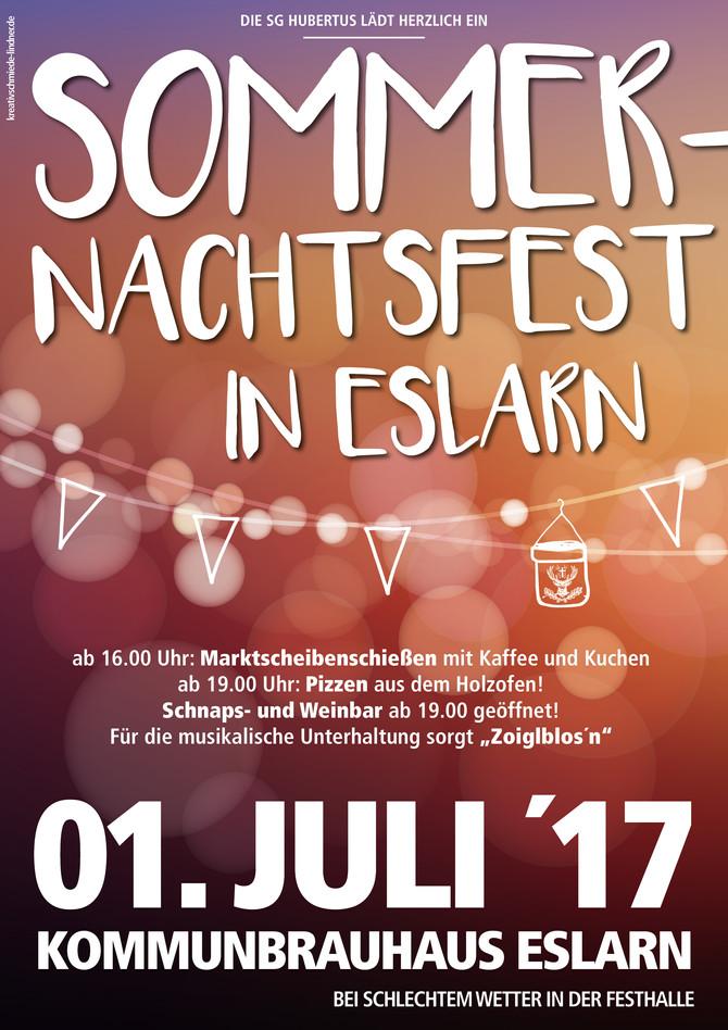 Sommernachtsfest der Hubertus Schützen Eslarn