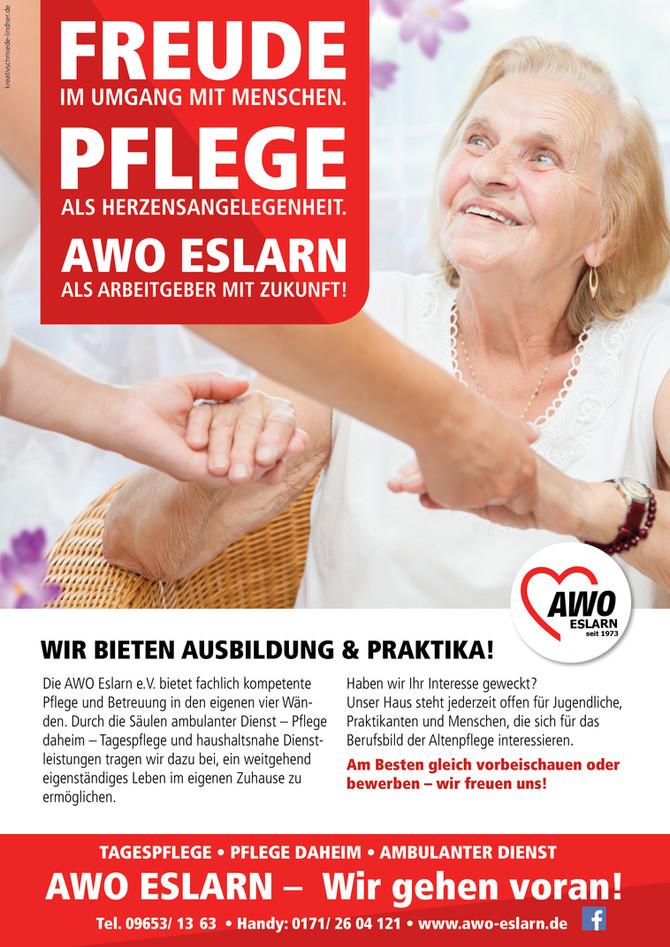 Plakat für die AWO Eslarn