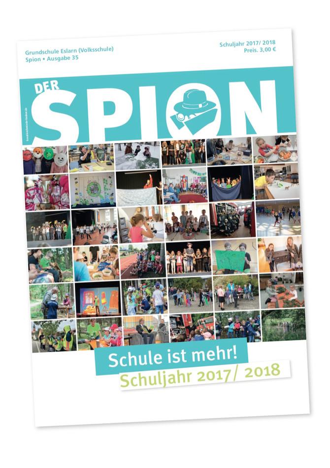 DER SPION - 118 Seiten Schule pur!