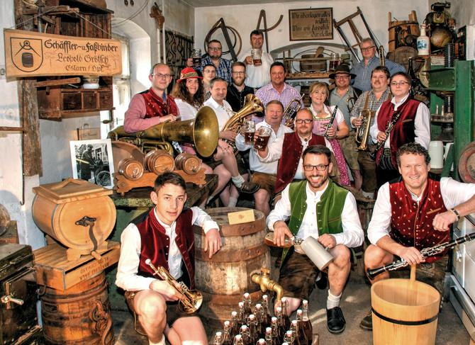 HDR-Fotografie der Eslarner Werkstattmusikanten
