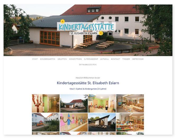 Homepage für die Kindertagesstätte St. Elisabeth Eslarn