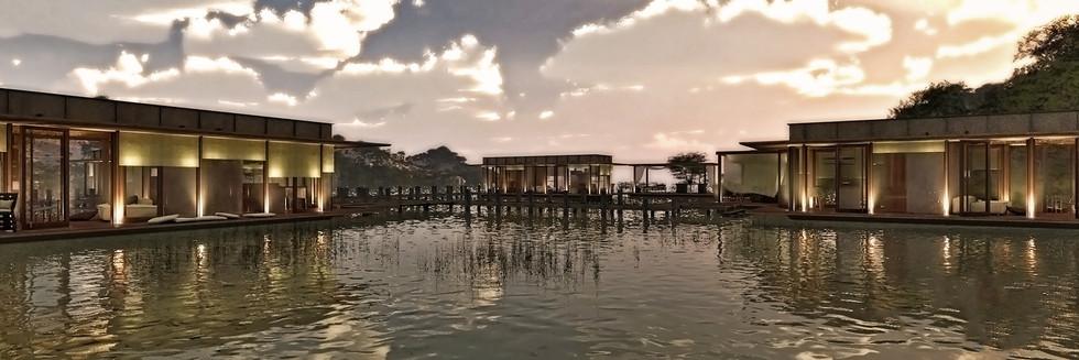 complesso abitativo galleggiante