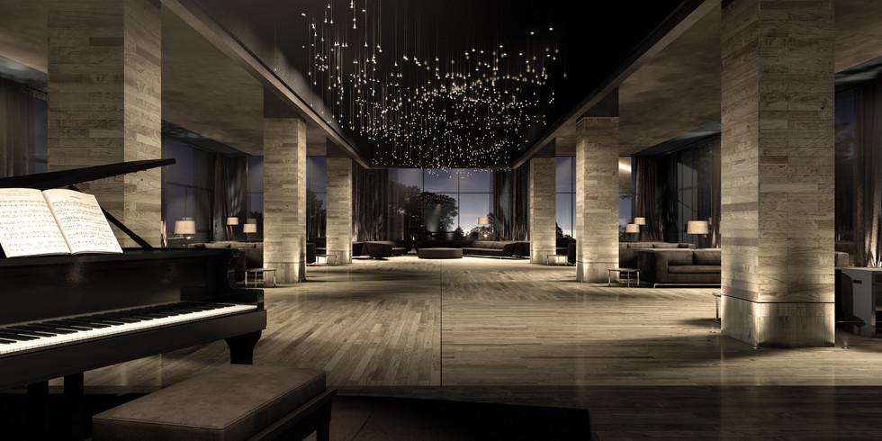 padiglione delle feste hotel in Tangeri