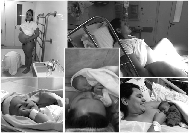 Relato der parto - Tatiane Lopes