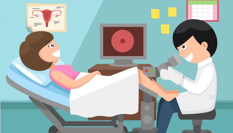 Exame ginecológico na gestação