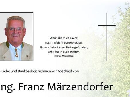 Abschied von Franz Märzendorfer