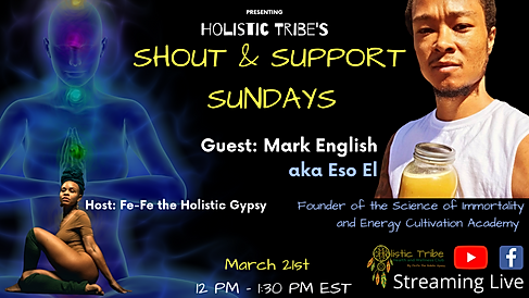 March Shout out and Support Sunday - Eve