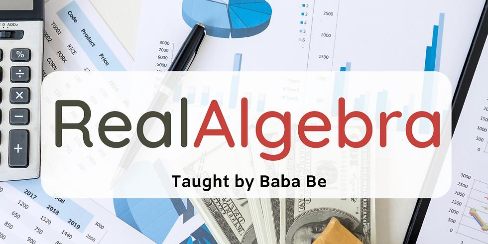 Real Algebra (13-16)