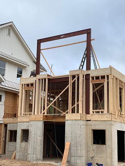 9-15-19 Ada Hilltop House Schaap Frame w