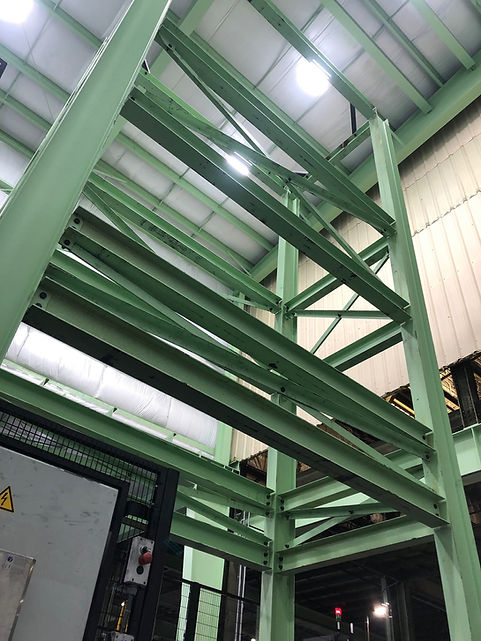 9-5-19 Industrial structural fram pic #1