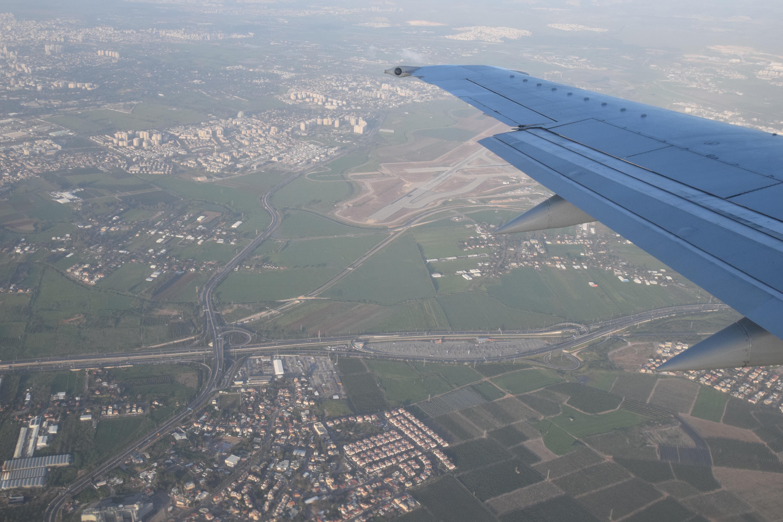 Indflyvning til Tel Aviv