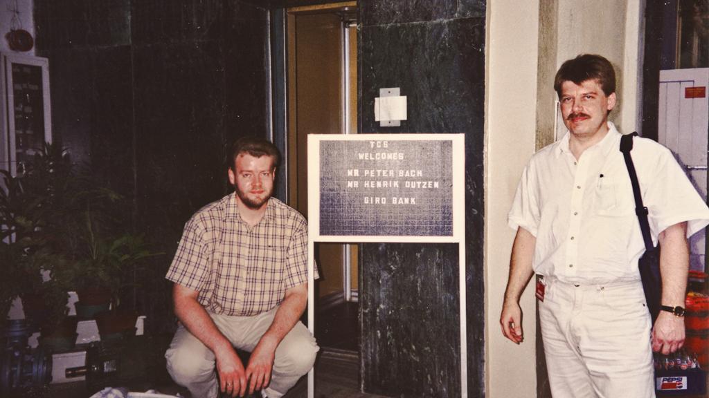 1995 Madras (Indien, med Henrik)