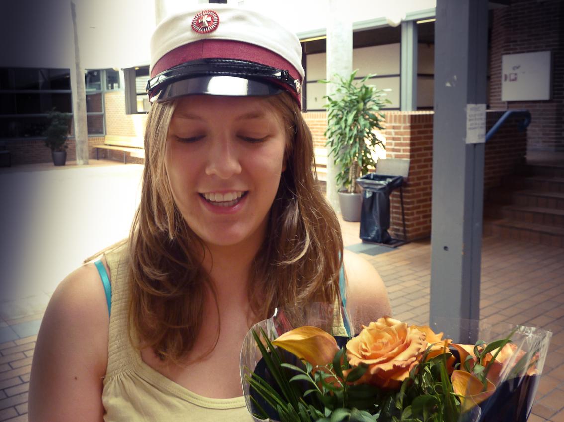 25.06.2010 Julie bliver student