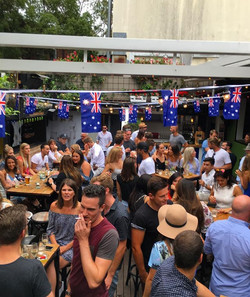 The atmosphere is electric down here at #theoakdb in anticipation of the Hottest 100 winner!