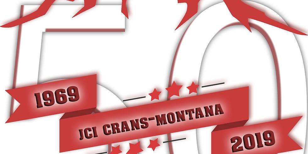 50 ans Jeune Chambre Internationale Crans-Montana