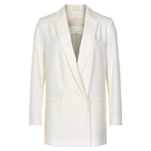 BLAZER long white