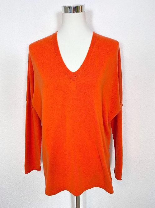 CASHMERE PULLOVER | insita clothing | V-Ausschnitt