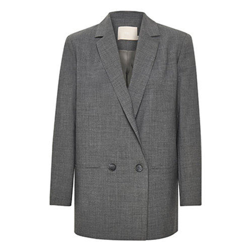 BLAZER | Karen by Simonsen | long grey melange
