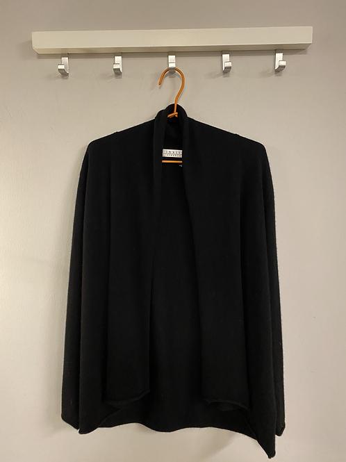 CASHMERE CARDIGAN | insita clothing | schwarz kurz