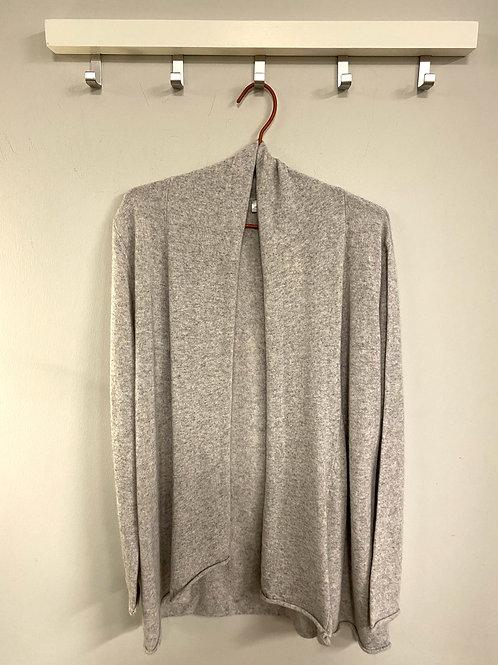 CASHMERE CARDIGAN | insita clothing | grau kurz