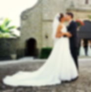 lace fishtail bridal gown