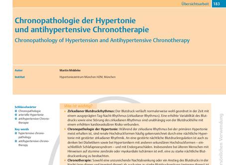 Chronopathologie der Hyperonie und antihypertensive Chronotherapie