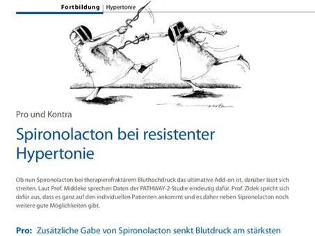 Spironolacton bei resistenter Hypertonie