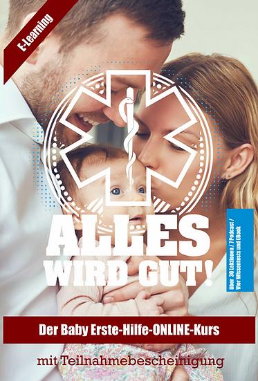 """ONLINE Erste-Hilfe bei Baby und Kind"""" (Handout und Videokurs)"""