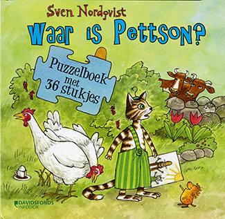 Puzzelboek Waar is Pettson?