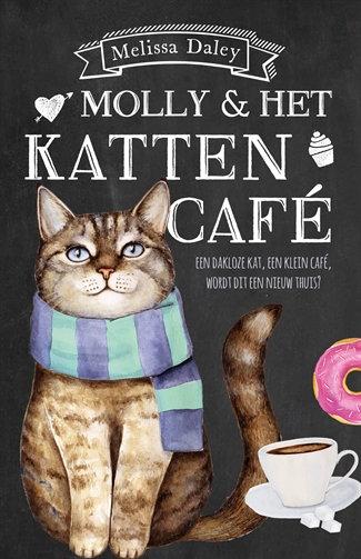 Boek Molly en het kattencafé
