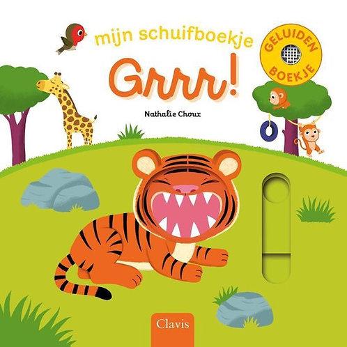 Boek Grrr! Mijn schuifboekje