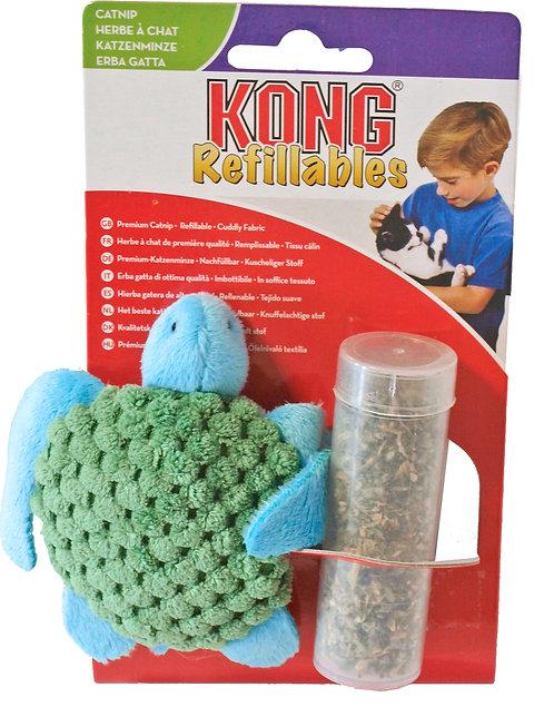Kong Schildpad met Catnip