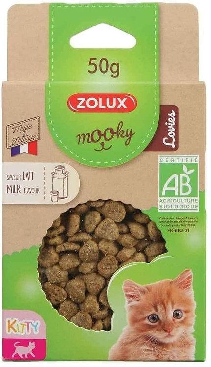 Zolux Mooky Bio KITTEN Lovies - Melk