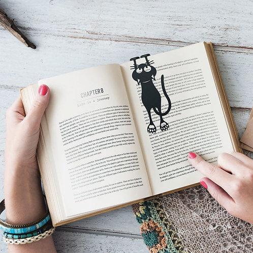 Boekenlegger Black Cat