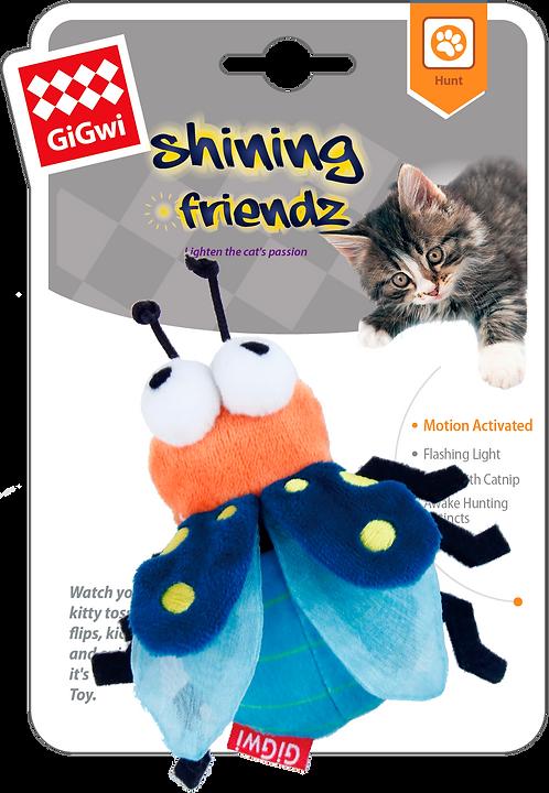 Speeltje Shining Bug met Catnip
