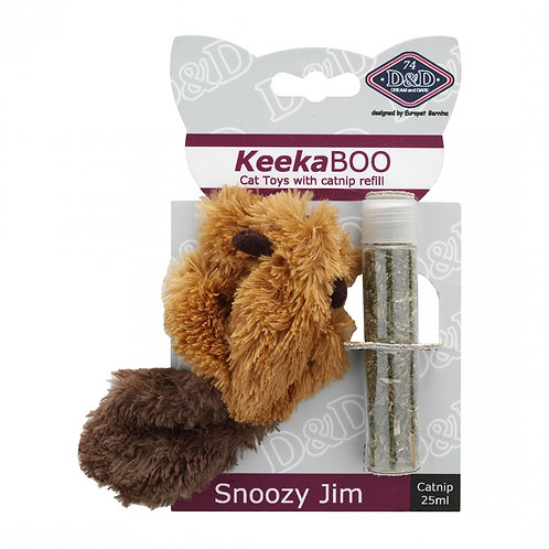 KeekaBoo Catnip Snoozy Jim